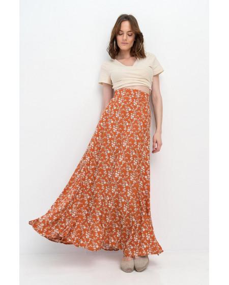 Φούστα Floral Maxi SELENA