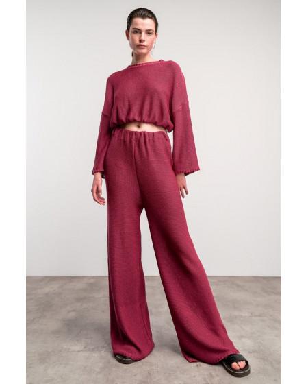 Μπλούζα - Παντελόνα σετ Magenta