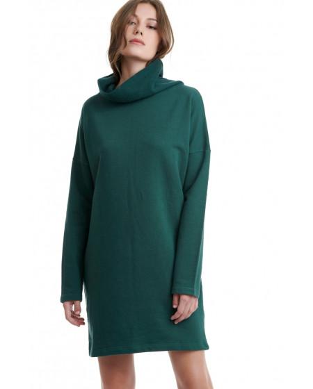 Φόρεμα Ζιβάγκο Πράσινο